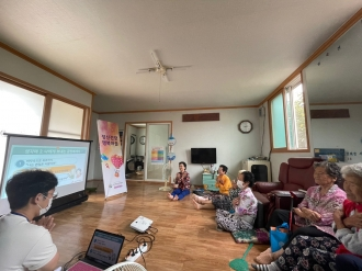 2021년 9월 정신건강행복마을-노인자살예방프로그램2